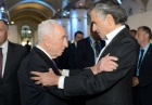 Shimon Peres at 12th YES Annual Meeting