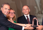 Ukrainian businessman and philanthropist, Victor Pinchuk, is honored with the 2014 Palazzo Strozzi Renaissance Man of the Year Award