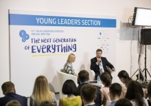 Young leaders section