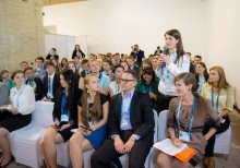 Young participants of the 11th Yalta European Strategy Annual Meeting