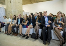Young participants of the 11th Annual Meeting of YES