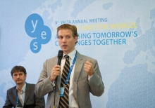 Young participants of the 9th Annual Meeting of YES