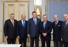 Meeting of the Board of Yalta European Strategy with the leadership of Ukraine and political leaders