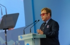 Sir Elton John talks about tolerance and human rights